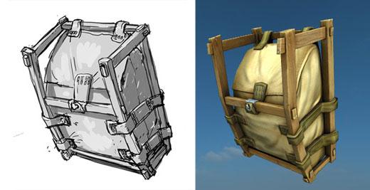Backpack 3d model