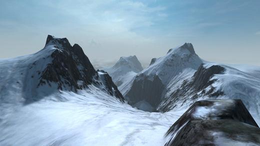 Overgrowth terrain textured