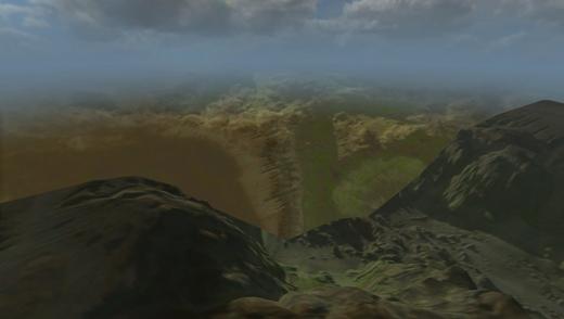 Canyon hard edge