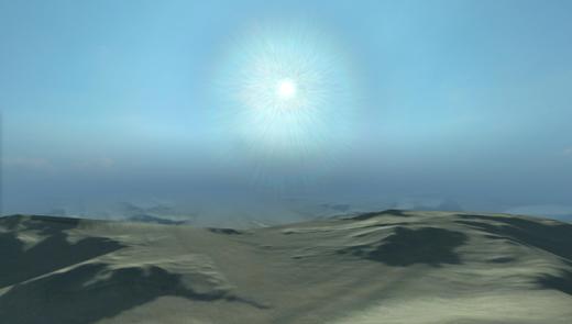 Desert hard edge
