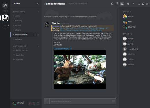 Wolfire Discord server - Wolfire Games Blog