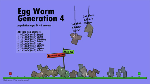 Egg Worm Generator