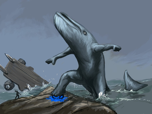Fail-Whale Man