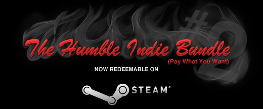 Humble Indie Bundle 2 Can Be Activated On Steam
