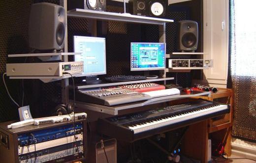 Mikko's studio
