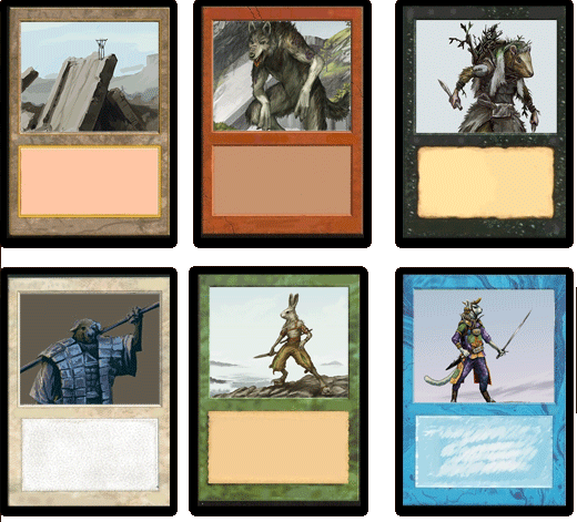Overgrowth Magic Cards
