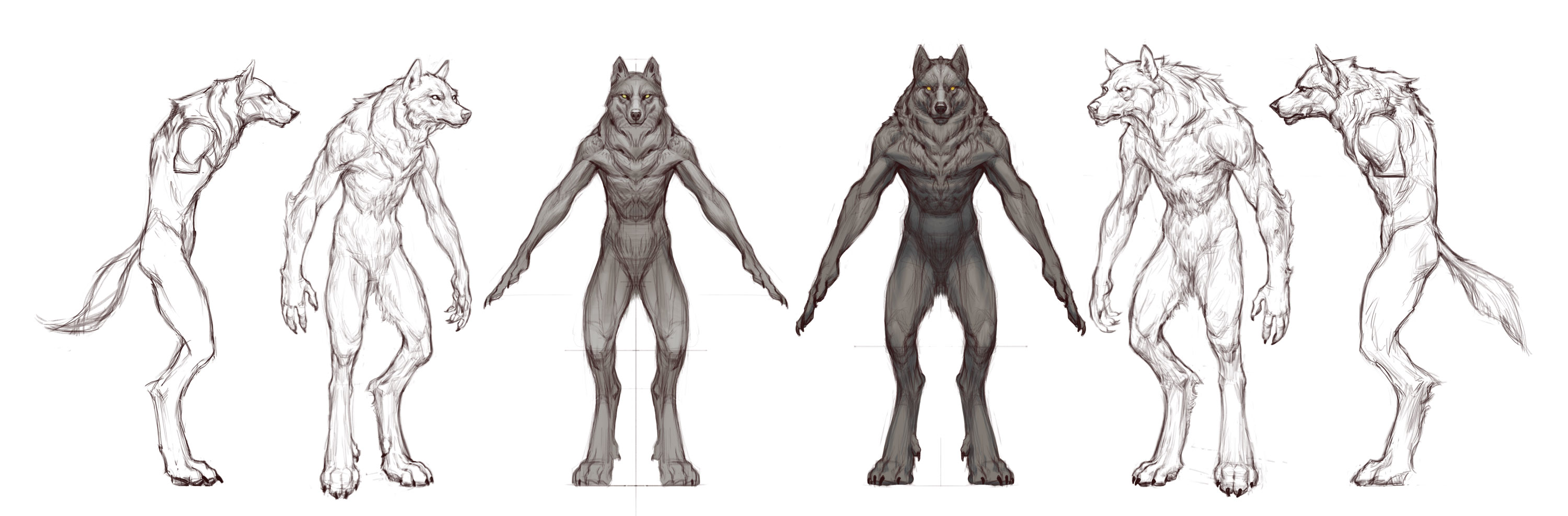 Scarification Was A Neat Idea From Aubrey For How Wolves Might Embellish  Their Bodies I Thought