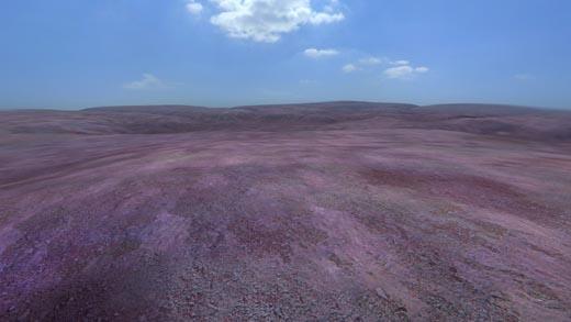 Terrain shot