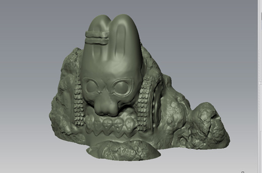 first pass sculpt