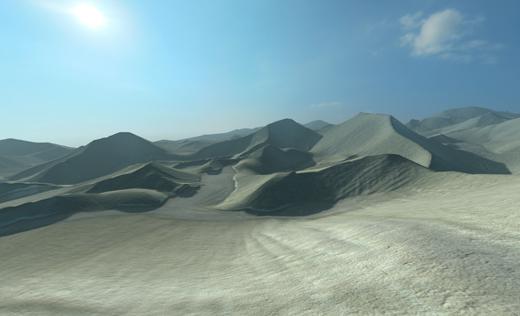fog terrain composite