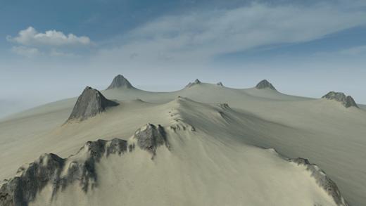 sand terrain