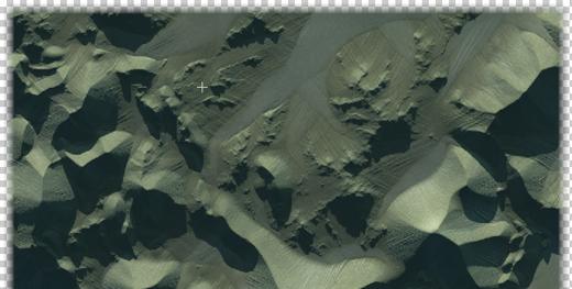 Terrain edge fade