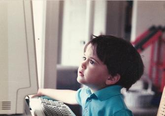 3-year-old David Rosen